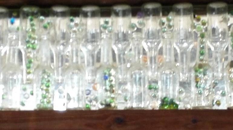 clear bottles